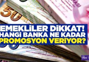 Hangi Banka Ne Kadar Promosyon Verecek?